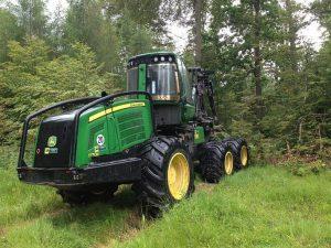 Harvester, maszyny leśne, maszyny, leasing maszyn