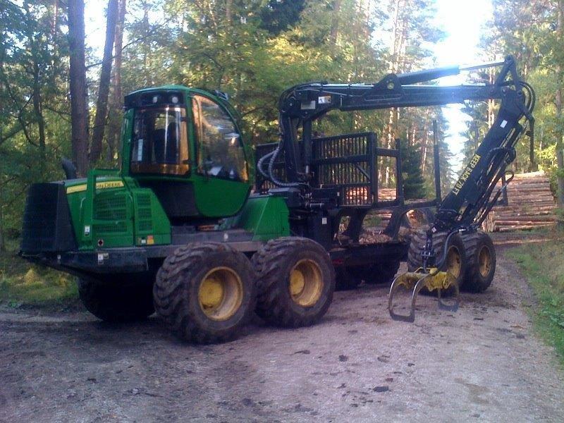 forwarder, maszyny, maszyny leśne