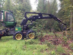 leasing maszyn, Harvester, maszyny, maszyny leśne