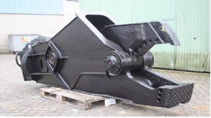 leasing z importem maszyny do wyburzeń z Holandii